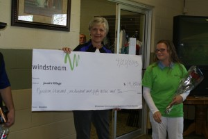 Windstream Communications holds Golf Tournament with net proceeds benefiting Jacob's Village.